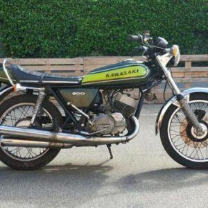 Kawasaki MACH 3 H1 500 Anni 70